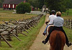 horseback tour of Gettysburg!
