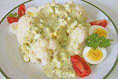 Karfiol mit Eier - Kräuter - Sauce (Rezept mit Bild) | Chefkoch.de