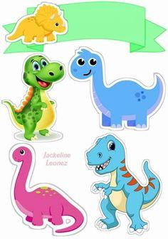 Adornos de dinos Dinosaur Mug, Dinosaur Birthday Cakes, Cute Dinosaur, The Good Dinosaur, Dinosaur Party, Die Dinos Baby, Baby Dinosaurs, Dinosaur Template, Cute T Rex