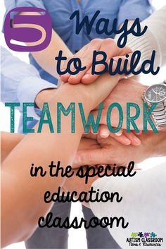 Collaboration between teachers and paraprofessionals can be tough.  Here are 5 ways to help build teamwork and solve problems in the special education classroom. Also includes a video you can listen to as well as great discussion from the audience.