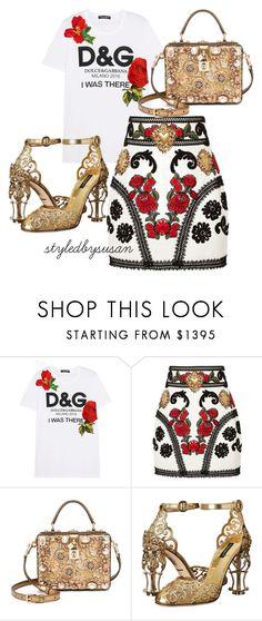 """Full Dolce & Gabbana"" by styledbysusan on Polyvore featuring moda i Dolce&Gabbana"