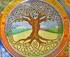 mosaics at Crealde School of Art | School Mosaics, Community Mosaics, Boston Mosaic Artist | Joshua Winer