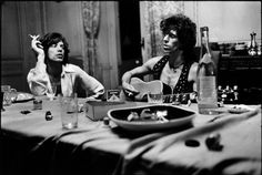 The Rolling Stones, Villa Nellcote (Nice, 1971) © Dominique Tarlé