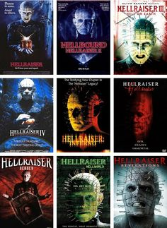 Hellraiser- the many varied sequels