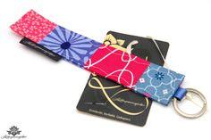 Geschenk für die Freundin: Schlüsselanhänger von #Lieblingsmanufaktur: pink, blau