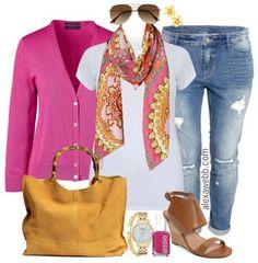 Outfits comodos para chicas plus size