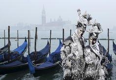 Der Karneval in Venedig ist ein einzigartiges Fest - vor allem die Kostüme spielen eine wichtige Rolle.