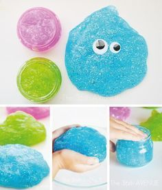 How to make a fun sensory mass to play with your n .- How to make a fun sensory mass to play with your children - 4 Kids, Diy For Kids, Gifts For Kids, Children, Infant Activities, Activities For Kids, Diy And Crafts, Arts And Crafts, Diy Slime