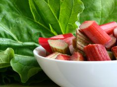 #VegOfTheWeek Scrumptious #Rhubarb recipes for all the family! http://outdoorsy.gardenxl.com/2014/03/23/veg-of-the-week-rhubarb/