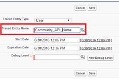Debug Log for Salesforce Community Self Register Page -  Cheers!!!