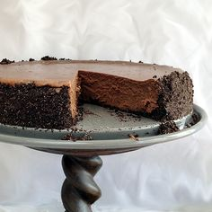Rich, silky and totally decadent, this Midnight Mocha Cheesecake is a chocolate lover's ultimate dessert. The hint of infused coffee puts it over the top.