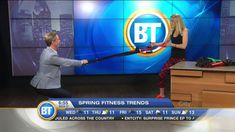 5 Fun Fitness Trends! Get some motivation by making fitness fun!! Learn more in my BT Montreal segment :-)