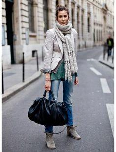 Inspiring Spring Street Style : Lucky Magazine