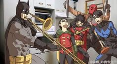 when Alfred ain't home.