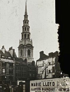 St Bride, Fleet St, 1922