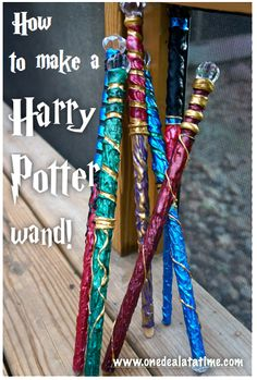 How to make a Harry Potter Wand