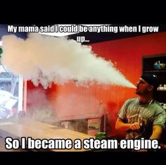 You must be so proud. A whole family of steam engines. Do you know how Disgusting you all look doing that shit! And No. Your Mama is Not proud!