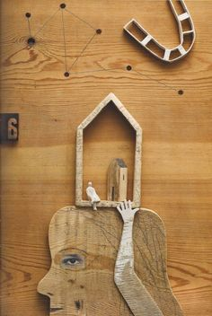 Risultati immagini per isidro ferrer Mixed Media Collage, Collage Art, D House, Found Object Art, Assemblage Art, Layout, Little Houses, Box Art, Altered Art