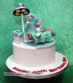 Ben - Heart Surgeon 40th Birthday Cake