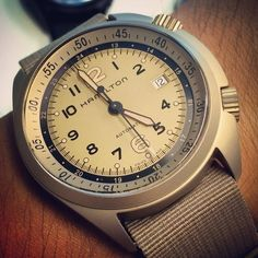 Hamilton Khaki Pilot Pioneer