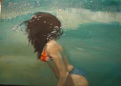 Sirena V, flota, oleo sobre lienzo, by MODE