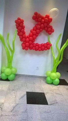 Balloon Seaweed-Birthday Party Ideas | Photo 1 of 42 | Catch My Party