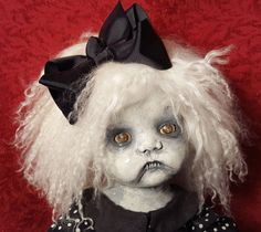 CREEPY GOTHIC / HORROR / VAMPIRE HALLOWEEN OOAK DOLL by Dark Asylum Studios | eBay