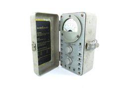 Multimeter Ohm Meter Volt Meter Industrial by KarensChicNShabby, $57.00