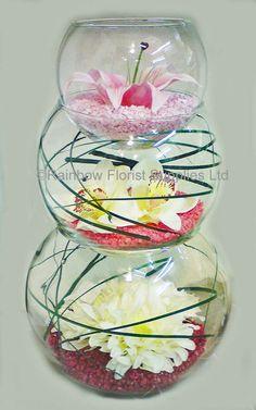 stacked fishbowl