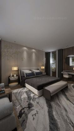 Master Bedroom Design, Cozy Bedroom, Couch, Furniture, Home Decor, Cozy Dorm Room, Settee, Decoration Home, Sofa