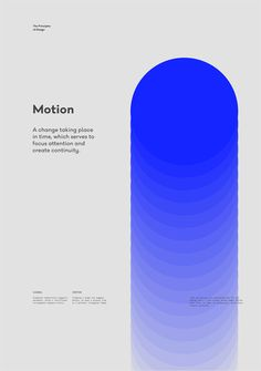 Motion – The Principles of Design poster serie by Gen Design Studio The Effective Pictures We Offer You About Graphic Design illustration A quality picture can tell you many things. You can find the m Design Studio, Type Design, Layout Design, Design Elements, Logo Design, Graphic Design Posters, Graphic Design Illustration, Graphic Design Inspiration, Typography Design