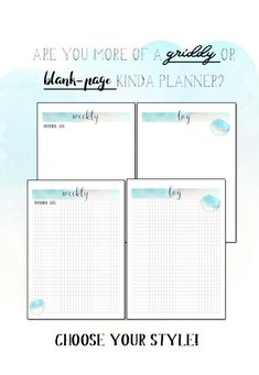 Printable bujo planner for work - Whimsical Watercolour - 25 pages - future log, monthly log, weekly log, meeting notes Bujo Planner, Printable Planner, Printable Art, Printables, Active, Letter Templates, Watercolor Illustration, One Pic, Art Boards