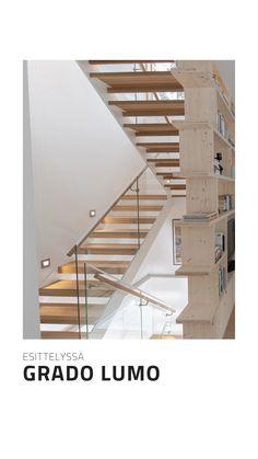 Esittelyssä Grado LUMO portaat. Stairs, Home Decor, Staircases, Ladders, Stairway, Room Decor, Stairways, Home Interior Design, Decoration Home