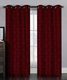 decorations solid curtain burgundy dp room home curtains nicetown blackout drapes com amazon thermal living insulated