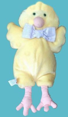 Searching 2007 Hallmark Heartline Yellow Chick Realistic Feet PRIORITY