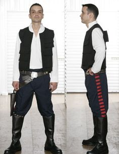 Star Wars Han Solo Costume - A New Hope. $159.00, via Etsy.