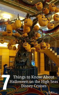 7 Things to Know About Halloween on the High Seas! Here are some important things to know about your Halloween Disney Cruise! | #KidsOnAPlane #HalloweenTravel #DisneyCruise #CruisingWithDisney #CruisingWithKids #TravelTips