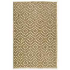 The Kaleen Five Seasons Tribal Diamonds Indoor/Outdoor Rug makes a stylish statement in any setting. Made from 100% polypropylene, this mildew resistant rug is durable enough for use on your patio as well as high traffic areas inside your home.