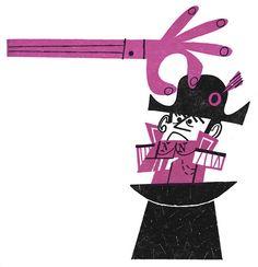 Jerry Smath illustration Fun With Mind 1965