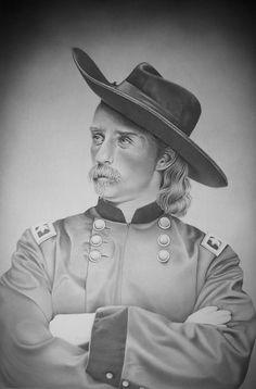 General Custer by Rita Niblock on ARTwanted