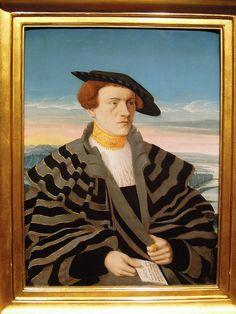 Portrait of Gilbert von Holzhauzen, Conrad Faber von Creuznach (1535) | Flickr - Photo Sharing!