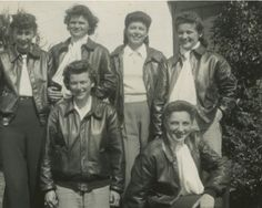 Houston Municipal Airport--the first training location for the WASP. these are the true Guinea Pigs!  Women in the cockpit?  Heavens!