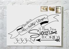 The Steph Dashingly Chic Calligraphy Envelope von ilulily auf Etsy