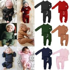 Winter newborn infant baby boy girl clothes t-shirt top+pants kids outfits sets Baby Boy Outfits, Kids Outfits, Winter Newborn, Pink Kids, Kids Pants, Girls Pajamas, Baby Boy Gifts, Skinny, Baby Boy Fashion