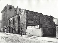 HANNOVER MITTE 1953 Blick von der Reuterstraße auf die heutige Rückseite DER MACHWITZ Rösterei