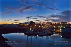 Sunset over Santa Barbara Harbor... miss this place so much!!!