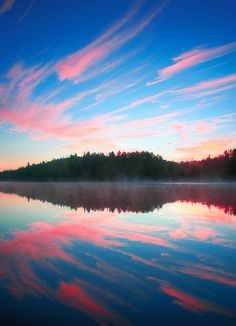 Early Morning - Joe Lake, Algonquin Park, Ontario
