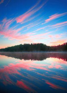 Early Morning - Joe Lake, Algonquin Park, Ontario
