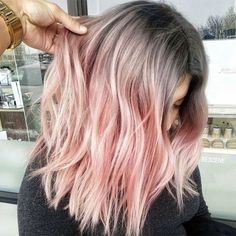 Love Is In The Hair - Behindthechair.com Rose Hair Color, Hair Color Formulas, Warm Colors, Hair Inspo, Long Locks, Beautiful Hair Color, Hair Today, Hair Beauty, Long Hair Styles