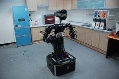 CIROS, A Household Service Robot Demonstrated At Robot World 2012 in South Korea